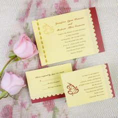 This one could be nice, though it isn't a favorite. Yellow Wedding Invitations, Wedding Invitation Wording, Invites, Traditional Indian Wedding, Reception Card, Response Cards, Ganesh, Marriage, Wedding Ideas