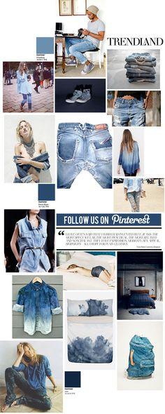 Channeling Denim - Follow @Trendland on Pinterest