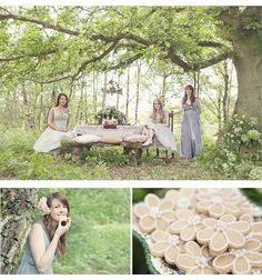 Cottingley Fairy Woodland Wedding Shoot - Clare West Photography 10
