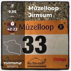 Mûzelloop in Jirnsum. 10 km in 42:22.