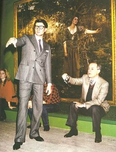 yves saint laurent ,pierre berge