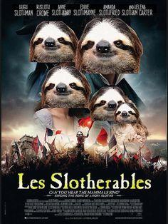 Sloth hit movies