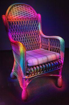Rainbow Chair   by cszar