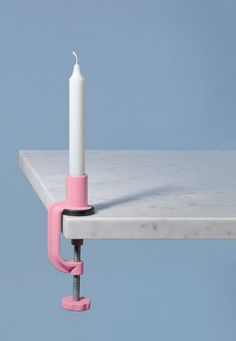 clamp candle by Aparentment