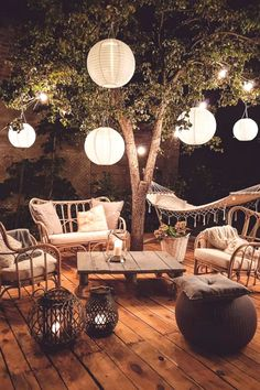 Super cozy outdoor spaces that you will love - Traum hinterhof garten - Super cozy outdoor spaces that you will love - Romantic Backyard, Cozy Backyard, Outdoor Spaces, Outdoor Living, Outdoor Decor, Patio Design, House Design, Balcony Design, Decoration Bedroom