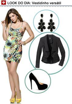 O look do dia de hoje mostra a versatilidade da Vooz Fashion! Transformamos o look dia em um look noite mudando os acessórios. Perfeito para a mulher moderna e multifuncional! Gostaram da dica?
