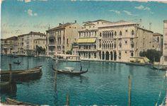 Velence, Venezia, postcard