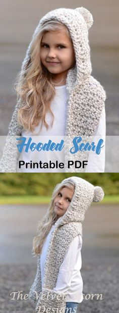Most up-to-date Pics Crochet for kids scarf Strategies hooded scarf crochet patterns – hat scarf crochet patterns – cowl crochet pattern – crochet p Crochet Hooded Cowl, Hooded Scarf Pattern, Crochet Kids Scarf, Crochet Cowl Free Pattern, Crochet Motifs, Crochet Beanie, Crochet Scarves, Crochet For Kids, Crochet Baby