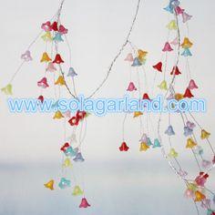 Artificial Flower Beaded Garland Wedding Table Centerpiece