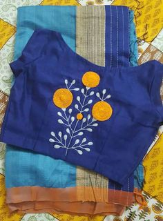 20 Latest Saree Blouse Designs for Stylish Look - ArtsyCraftsyDad Blouse Back Neck Designs, Simple Blouse Designs, Blouse Designs Silk, Saree Blouse Patterns, Blouse Simple, Latest Saree Blouse, Latest Sarees, Blouse Models, Hand Embroidery Designs