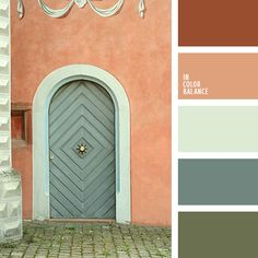 Color Palette boggy, brown-orange, color of turquoise, color selection for holidays, colors in Orange Color Palettes, Green Color Schemes, Green Colour Palette, Bedroom Color Schemes, Bedroom Colors, Color Combinations, Green Pallete, Beach Color Palettes, Bathroom Colors Gray