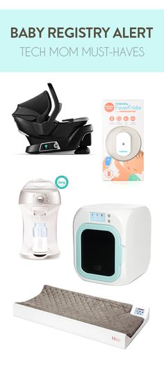 "Tech Mom Must-Haves: 6 products that will make you the ""tech-iest"" mommy on the block and give you peace of mind."