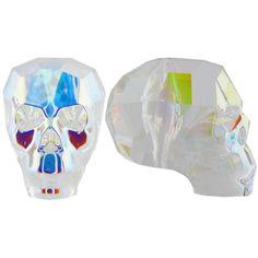 - Dozen pcs) - Design your jewelry Beaded Skull, Crystal Skull, Crystal Beads, Swarovski Crystals, Ancient Symbols, One Design, Black Diamond, Iridescent, Heart Shapes