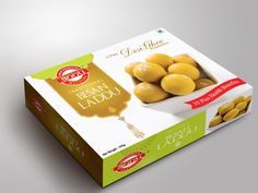 Creative sweet box design for mathura based sweet Biscuits Packaging, Cookie Packaging, Food Packaging Design, Box Packaging, Product Packaging, Diwali, Sweet Box Design, Label Design, Package Design