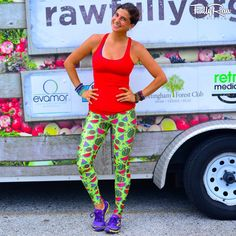 And it's because I have the best watermelon pants in all of the land. Move Your Body, Raw Vegan Recipes, Female Stars, Just For Fun, Out Of Style, My Idol, Watermelon, Going Out, Pants