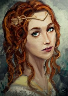 Helena Sorrel, Eglantine's mother and a still practicing magical healer. Her gene seems to have skipped her only daughter.: