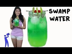 Swamp Water - Tipsy Bartender - YouTube  I'm down with the mason jar drinks. :-D