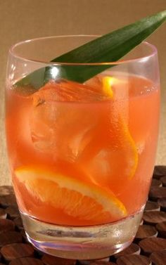 Zacapa Summer Soiree - Rum, Ginger liquer, orange-guava juice - sounds delicious!