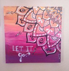 Let it go mandala