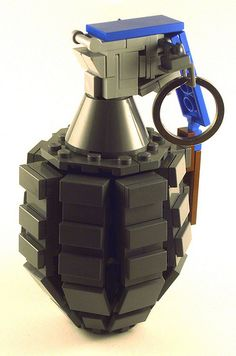 LEGO MK2 Grenade by Nick Jensen via The Living Brick & The Brothers Brick
