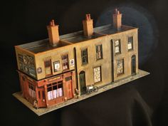 Model of building, Dutfield Yard, Berner Street