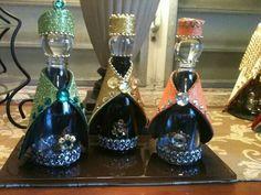 Reyes Magos con botellas de malta