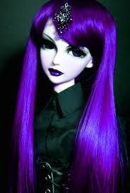 dark diary gothic doll