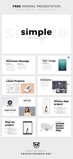 Simplicity has become mandatory in the business world and this Free Minimal Keynote Template from Louis Twelve Design will help you to present your ideas in a simple but sophisticated way.The Minimal Keynote slides are simple, easy to use and best of al…