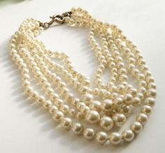 Pearls...really want some like these!