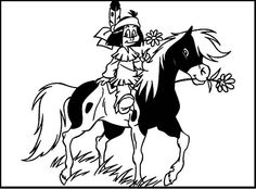 21 Best Yakari Images Coloring Pages For Kids Coloring Pictures