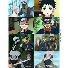 Kakashi, Rin and Obito Kakashi Hatake, Sasuke, Naruto Shippuden, Boruto, Anime Naruto, Team Minato, Feb 2017, Team 7, I Love Anime