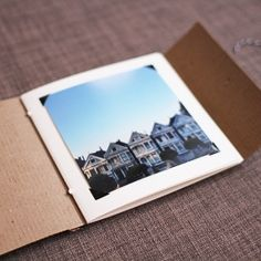 Make this matchbook style album for your Instagram photos