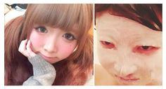 WOW! Boyfriend Dumps Japanese Girlfriend After Seeing Her Without Makeup