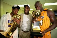 Kobe & Shaq first ring