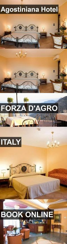 Hotel Agostiniana Hotel in Forza d'Agro, Italy. For more information, photos, reviews and best prices please follow the link. #Italy #Forzad'Agro #AgostinianaHotel #hotel #travel #vacation