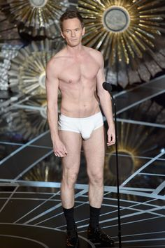 So Anyway, Here Is Neil Patrick Harris's Huge Bulge at the Oscars -Cosmopolitan.com