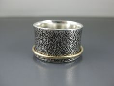 The Purist  Sterling Silver and 14K Gold by formandfunktion, $144.00