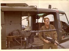 Vic.....Vietnam Door Gunner on a Night Hawk