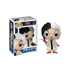 Funko POP! Disney Series 1 Vinyl Figure Cruella De Vil