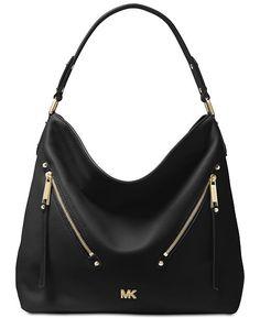 bfbfe7e4dc3e Michael Kors Evie Hobo - Handbags  amp  Accessories - Macy s Evie