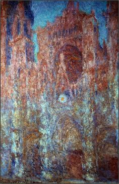 Monet: Rouen Cathedral series, 1892-1894.