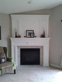 6 Complete Tips: Chalkboard Fireplace Cover marble fireplace with built ins.Marble Fireplace With Built Ins. Fireplace Update, Fireplace Built Ins, Brick Fireplace Makeover, Farmhouse Fireplace, Faux Fireplace, Fireplace Remodel, Fireplace Mantle, Living Room With Fireplace, Fireplace Surrounds