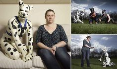 TV documentary sheds light on men who enjoy dressing up as dogs - apparently about 10,000 people in the UK are into a pet play fetish. Well, at least they're all getting their exercise - the dog men all have really nice arms. That look on the woman's face though...it reminds me of that American painting of the two farmers.