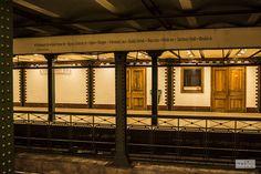 metro station in Budapest stacja metra w Budapeszcie