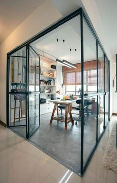 Here are the Hdb Home Design Ideas. This post about Hdb Home Design Ideas was posted under the Home Design … Home Design, Home Office Design, Home Interior Design, Design Ideas, Design Art, Small Living Room Layout, Deco Restaurant, Study Room Design, Glass Room
