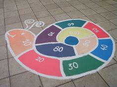 Πρώτα ο δάσκαλος...: Ιδέες για παιχνίδια στην αυλή!