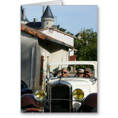 Charente car rally in Verteuil sur Charente