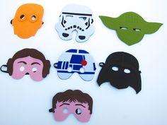 Star Wars Masks gift ideas/Star wars  Felt by MelissasStitches, $8.00