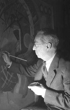 Wassily Kandinsky Artist, one of the founders and theorists of the abstract art. Franz Marc, Wassily Kandinsky, Henri Matisse, Abstract Words, Abstract Art, Famous Artists, Great Artists, Artist Art, Artist At Work