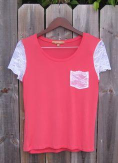 http://site.alifosterpatterns.com/blog/2011/05/05/refashion-t-shirt-lace/